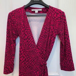Diane Von Furstenberg New Julian Wrap Dress Size 0
